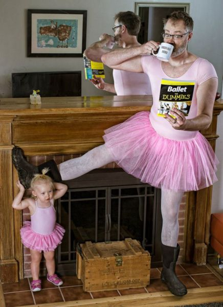 Dave Engledow:Ένας μπαμπάς με χιούμορ | imommy.gr