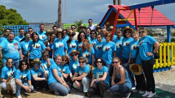 Εθελοντική δράση των εργαζομένων της Pfizer Hellas στο «Παιδικό Χωριό SOS» στη Βάρη | imommy.gr
