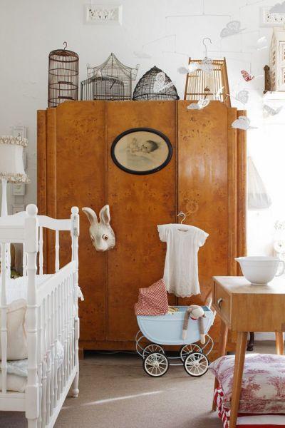 Παιδικό δωμάτιο και vintage ντουλάπες | imommy.gr