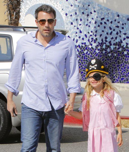Ο Μπεν Άφλεκ και η μικρή του πειρατίνα! | imommy.gr