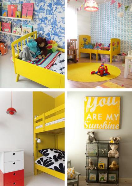 Παιδικό δωμάτιο: Κίτρινο, ο ήλιος στο δωμάτιό του! | imommy.gr