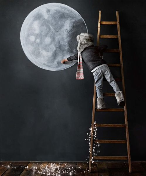 Fly me to the moon… | imommy.gr