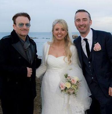 Η γαμήλια φωτό του Bono | imommy.gr