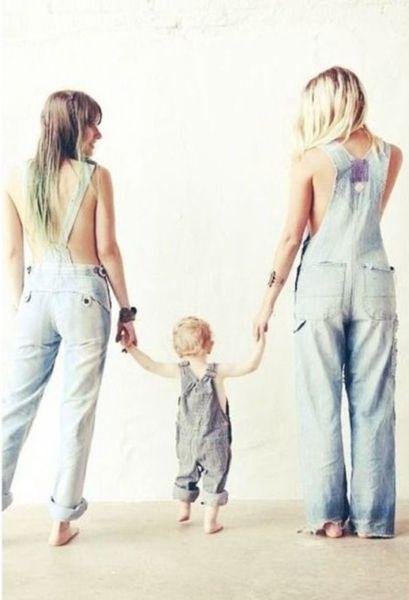 Πιο ευτυχισμένα τα παιδιά με δύο μαμάδες! | imommy.gr