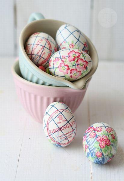 DIY: Πασχαλινά αυγά διακοσμημένα με χαρτοπετσέτες | imommy.gr