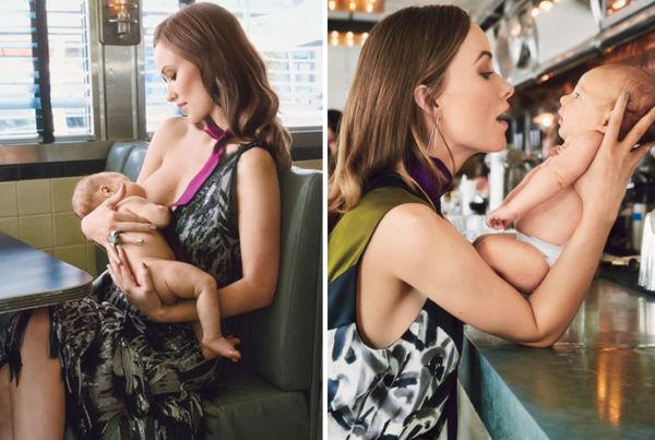 Ολίβια Γουάιλντ: «Θηλάζω το γιο μου συνέχεια!» | imommy.gr