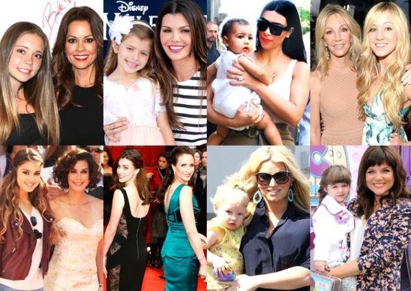 Beauty genes: 20 διάσημες μαμάδες με τις κόρες τους | imommy.gr
