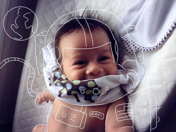 Εικόνες: Όταν ο μπαμπάς εμπνέεται από το μωρό του! | imommy.gr