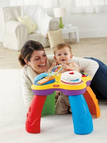 Εκπαιδευτικό τραπέζι μαθαίνει στο μωρό σας Ελληνικά & Αγγλικά!   imommy.gr
