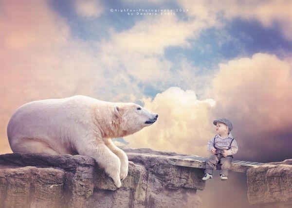 Εκπληκτικές φωτογραφίες του 10 μηνών Theodore παρέα με τα ζώα της ζούγκλας. | imommy.gr