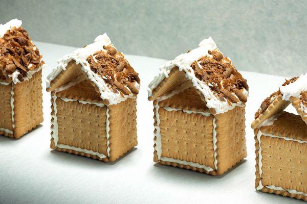Χριστουγεννιάτικα σπιτάκια από μπισκότα πτι-μπερ! | imommy.gr