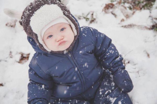 Εικόνες: Μωρά στο χιόνι για πρώτη φορά! | imommy.gr
