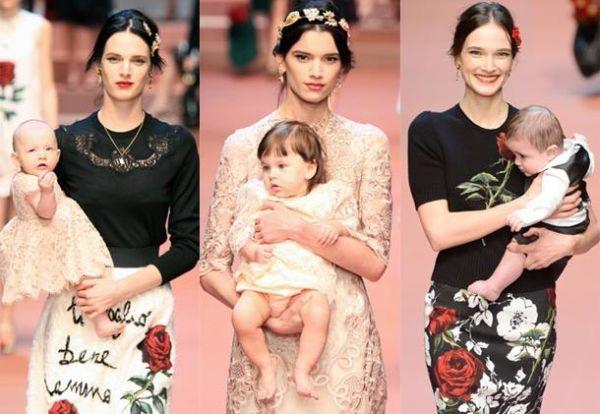 Μόδα: Οι Dolce & Gabbana υμνούν τη μητρότητα! | imommy.gr