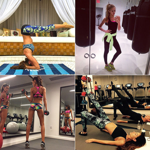 Instagram: Όταν οι Άγγελοι της Victoria's Secret γυμνάζονται! | imommy.gr