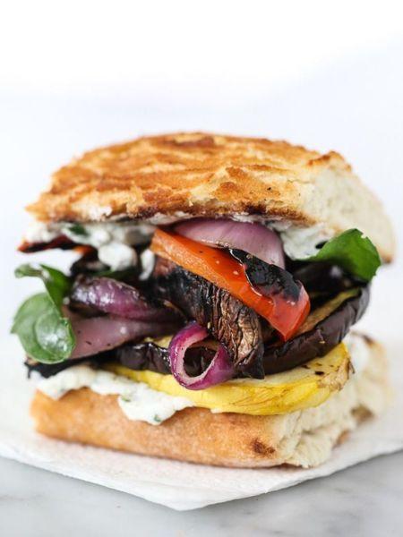 Νηστίσιμο burger με ψητά λαχανικά | imommy.gr
