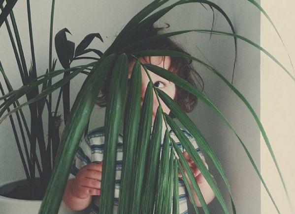 Εικόνες: Όταν τα παιδιά (νομίζουν ότι) κρύβονται! | imommy.gr