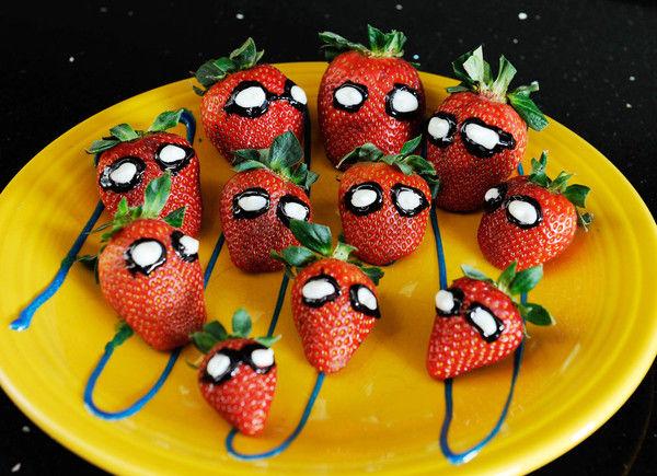 Φραουλίτσες…spiderman   imommy.gr