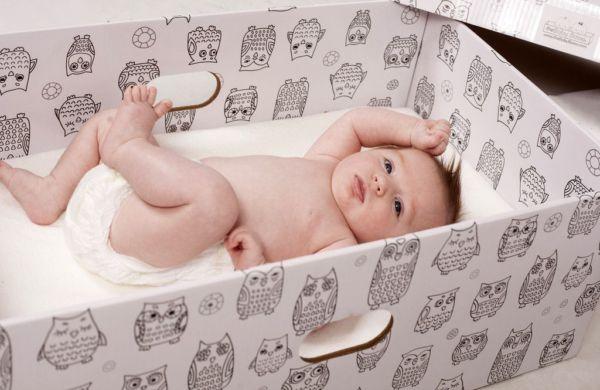 Γιατί τα μωρά στη Φινλανδία κοιμούνται σε χαρτονένια κουτιά; | imommy.gr