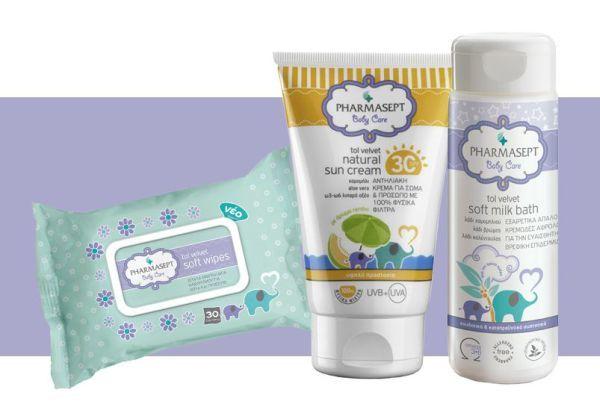 Κερδίστε 3 νεσεσέρ με προϊόντα φροντίδας του μωρού από την Pharmasept | imommy.gr