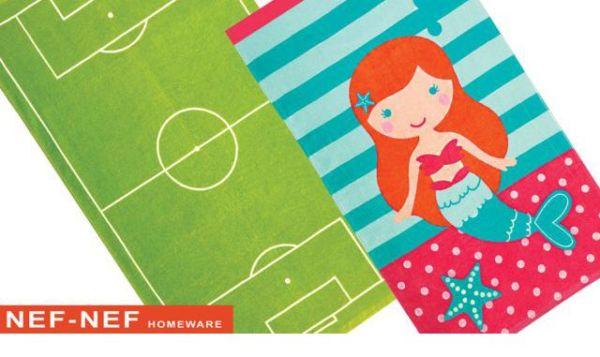 Κερδίστε 20 παιδικές πετσέτες θαλάσσης από την Nef – Nef  Homeware | imommy.gr