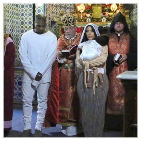 Νέες φωτογραφίες από τη βάφτιση της Νορθ Γουέστ! | imommy.gr