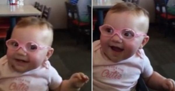 Βίντεο: Μωράκι βλέπει για πρώτη φορά «καθαρά» τους γονείς του   imommy.gr