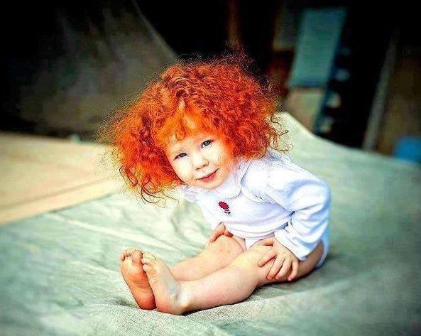 Φωτογραφίες μωρών με αστεία μαλλιά   imommy.gr