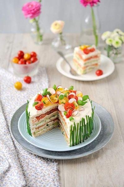 Καλοκαιρινή αλμυρή τούρτα με ψωμί του τοστ! | imommy.gr