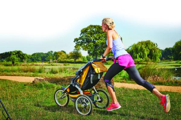 Γυμναστική με το καροτσάκι του μωρού! | imommy.gr