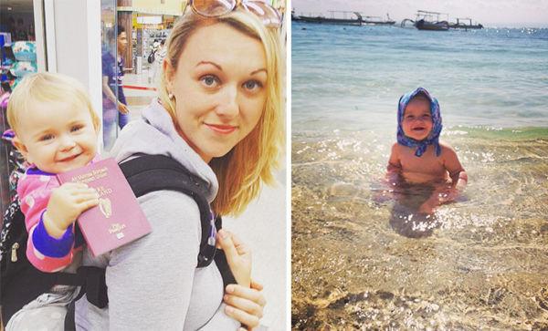 Εικόνες: Η μικρούλα που ταξίδεψε σε όλο τον κόσμο πριν γίνει ενός έτους! | imommy.gr