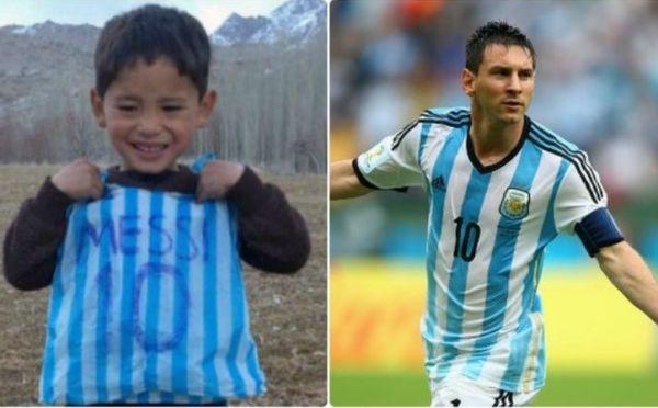 Η χαρά του 5χρονου Αφγανού πρόσφυγα για την αυθεντική φανέλα του Μέσι | imommy.gr