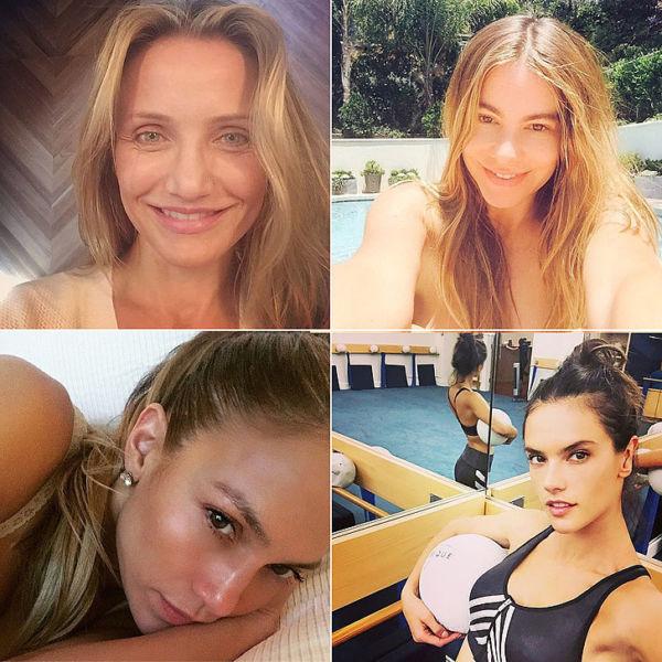 Διάσημες σταρ: Selfies χωρίς ίχνος μακιγιάζ! | imommy.gr