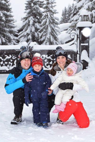 Η βασιλική οικογένεια στις Γαλλικές Άλπεις! | imommy.gr