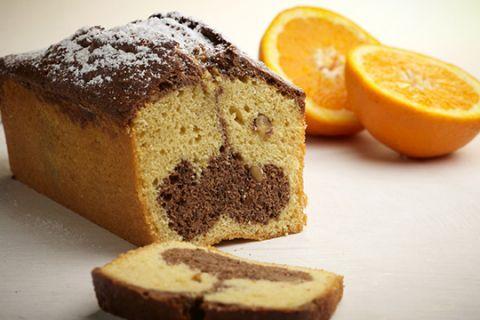 Κέικ με σοκολάτα και πορτοκάλι (μαρμπρέ) | imommy.gr