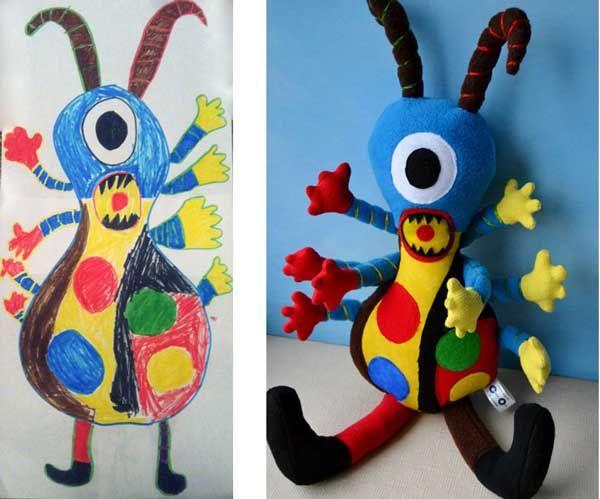 Εικόνες: Μια μαμά «μεταμορφώνει» παιδικές ζωγραφιές σε παιχνίδια | imommy.gr
