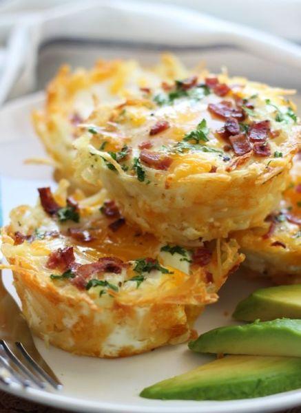 Λαχταριστές φωλιές με αυγό τυρί και μπέικον! | imommy.gr