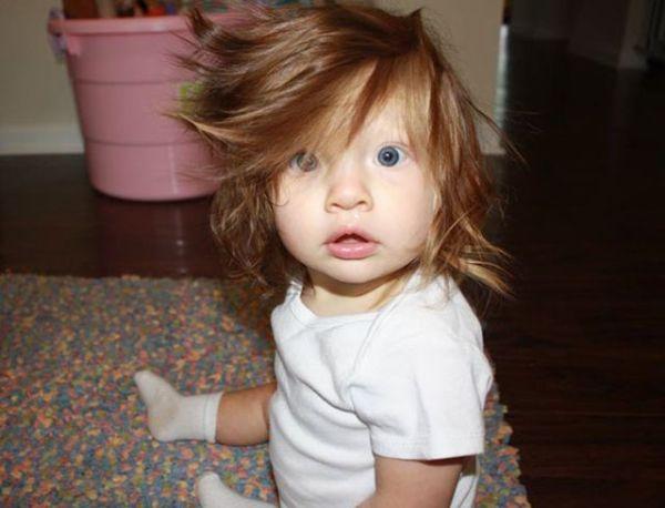 Αστείες φωτογραφίες μωρών με πολλά μαλλιά | imommy.gr