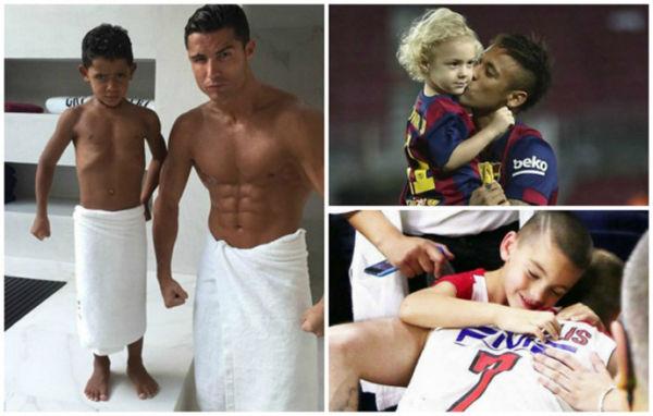 Διάσημοι μπαμπάδες αθλητές με τα βλαστάρια τους | imommy.gr