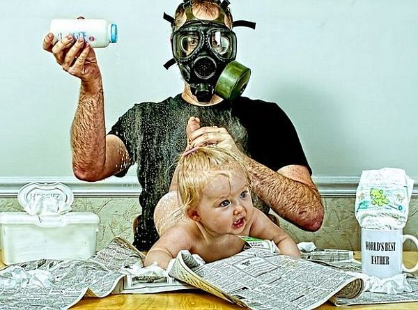 Αστείες εικόνες: «Παρέα με το μπαμπά» | imommy.gr