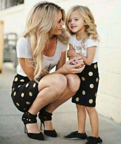 Στυλιστική αρμονία μαμάς – παιδιού | imommy.gr