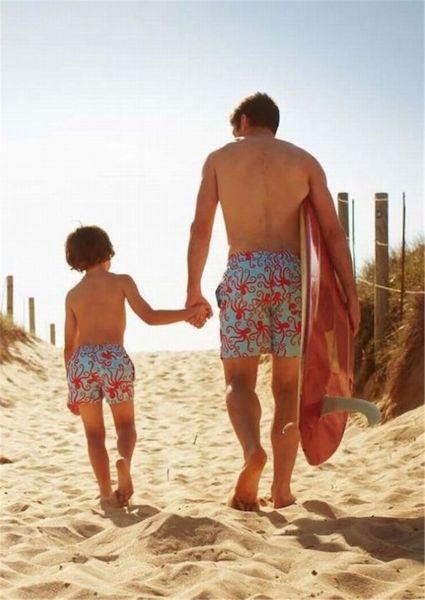 Γιοί ολόιδιοι με τους μπαμπάδες τους (εικόνες) | imommy.gr
