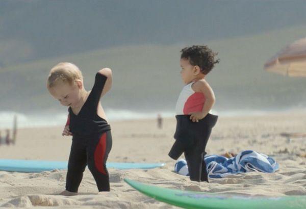 Βίντεο: Μωρά σέρφερ…ίσως η ομορφότερη διαφήμιση που έχουμε δει | imommy.gr