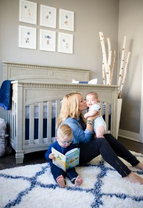Τζεν Μπράουν: Στο υπέροχο βρεφικό δωμάτιο του μωρού της | imommy.gr