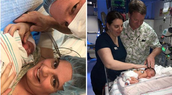 Ιατρικό θαύμα: Αυτό το μωρό γεννήθηκε.. δύο φορές | imommy.gr