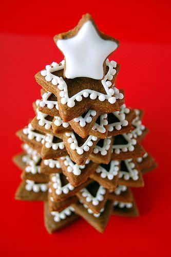 Χριστουγεννιάτικο δεντράκι από μπισκότα!   imommy.gr