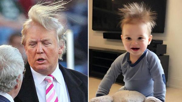 Ίδιος ο παππούς του! Η φωτό του εγγονού του Τραμπ που έσπασε το ίντερνετ! | imommy.gr
