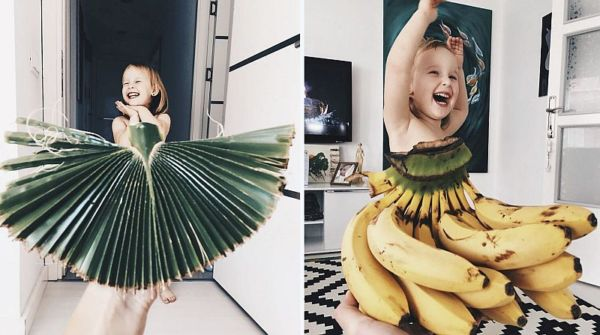 Μαμά δημιουργεί λαμπερά φορέματα για την 3χρονη κόρη της με φρούτα και λαχανικά | imommy.gr