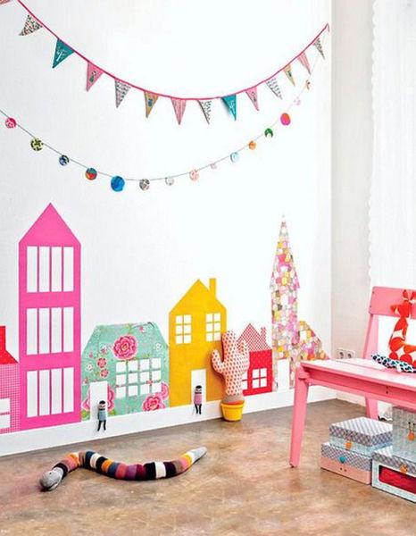 Deco: 10  προτάσεις για να διακοσμήσετε δημιουργικά ένα άδειο τοίχο του παιδικού δωματίου | imommy.gr