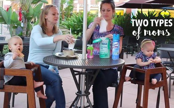 Βίντεο: Υπερπροστατευτική μαμά VS Χαλαρή μαμά | imommy.gr
