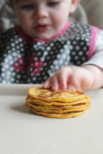 «Baby» σπιτικές τηγανίτες για μωρά!   imommy.gr